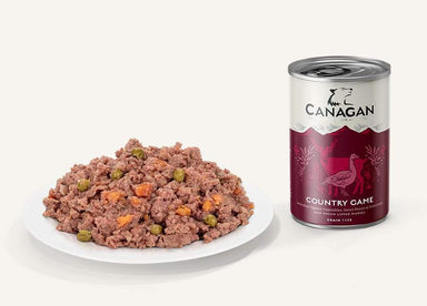 Canagan Wet Dog Food Can - Country Game Dog Food - Wet Canagan