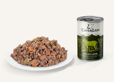 Canagan Wet Dog Food Dog Can - Welsh Lamb Dog Food - Wet Canagan