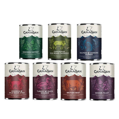 Canagan Wet Variety Pack Dog Food - Wet Canagan