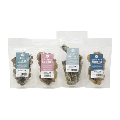 Cornish Fish Selection Gift Box for Dogs - Limited Edition Dog Treats Natural Cornish Pet