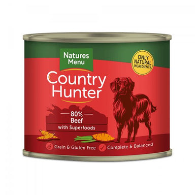 Country Hunter Dog Food Beef with Superfoods Can Dog Food - Wet Natures Menu