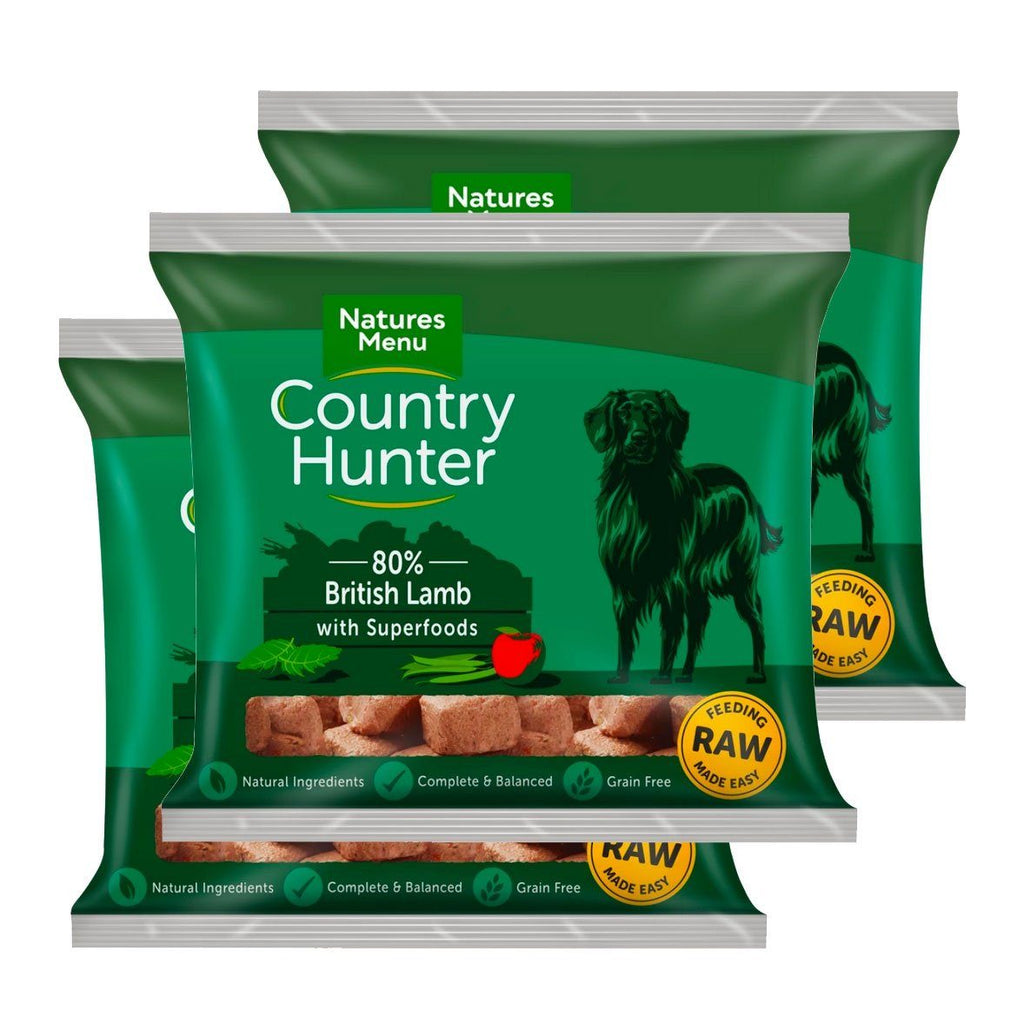 Country Hunter Lamb Bundle x10 Dog Food - Frozen Natures Menu