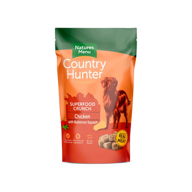 Country Hunter Superfood Crunch Chicken with Butternut Squash Dog Food - Dry Natures Menu