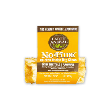 Earth Animal No-Hide Wholesome Chicken Chew - Small Dog Treats Earth Animal