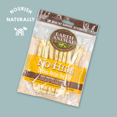 Earth Animal No-Hide Wholesome Chicken Stix Dog Treats Earth Animal