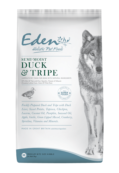 Eden 60/40 Semi-Moist Duck and Tripe Dog Food - Dry Eden