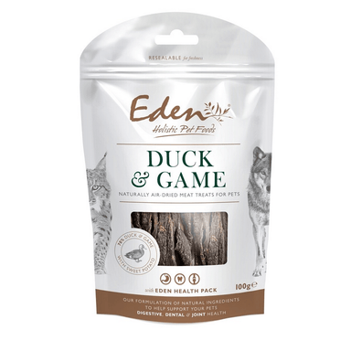 Eden Duck and Game Treat Dog Treats Eden