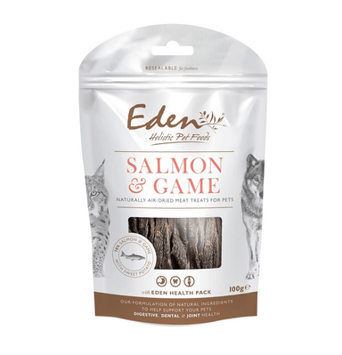 Eden Salmon and Game Treat Dog Treats Eden