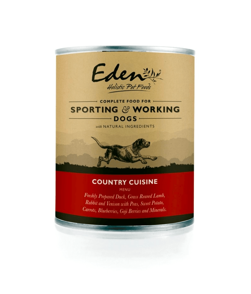 Eden Wet Food for Working and Sporting Dogs: Country Cuisine Dog Food - Wet Eden