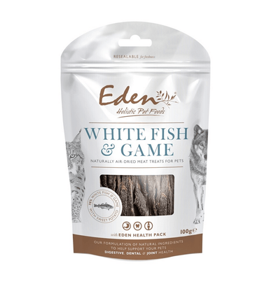 Eden White Fish and Game Treat Dog Treats Eden