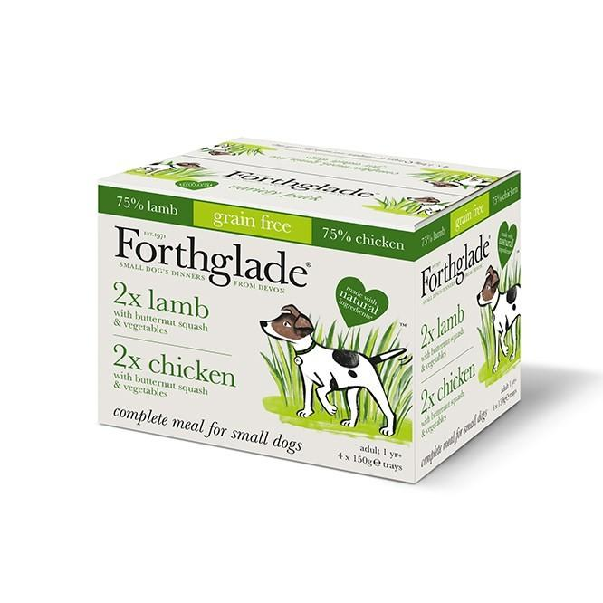 Forthglade Chicken & Lamb Variety Pack - 150g Dog Food - Wet Forthglade