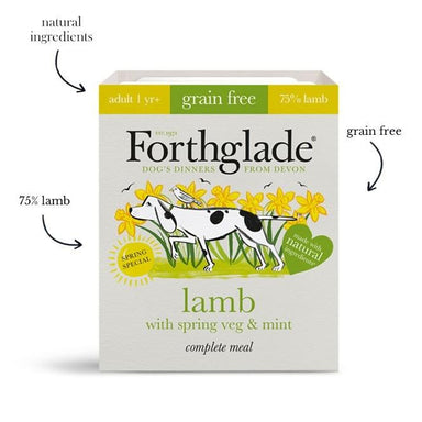 Forthglade Lamb with Spring Veg & Mint Dog Food - Wet Forthglade