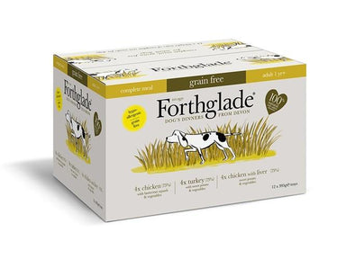 Forthglade Poultry Multicase Adult Dog Food - Wet Forthglade