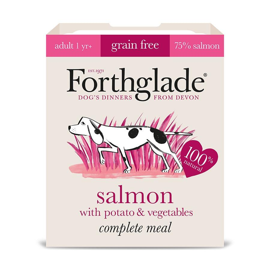 Forthglade Salmon with Potato & Vegetables Adult Dog Food - Wet Forthglade