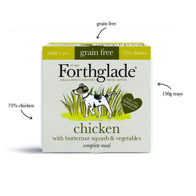 Forthglade Small Dog Chicken & Lamb Variety Pack - 150g Dog Food - Wet Forthglade