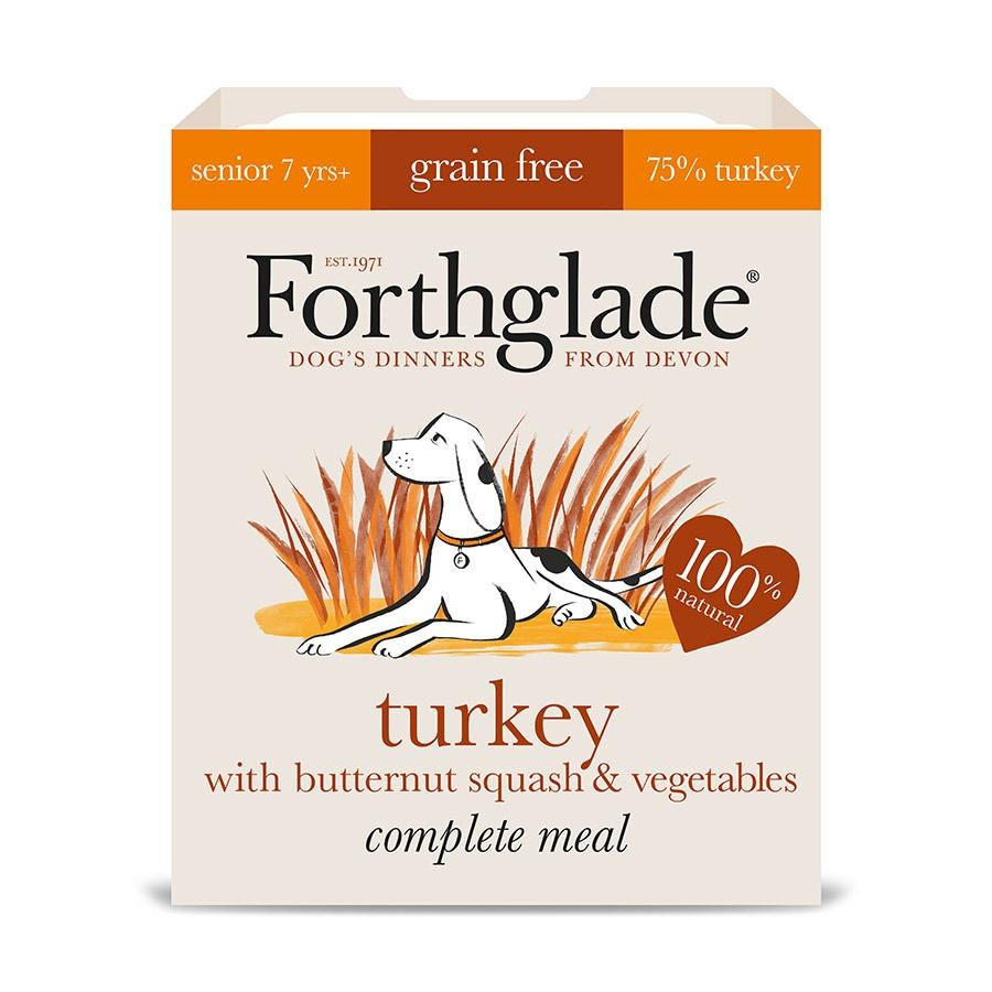 Forthglade Turkey with Butternut Squash & Vegetables Senior Dog Food - Wet Forthglade