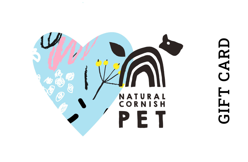 Gift Card Natural Cornish Pet Shop