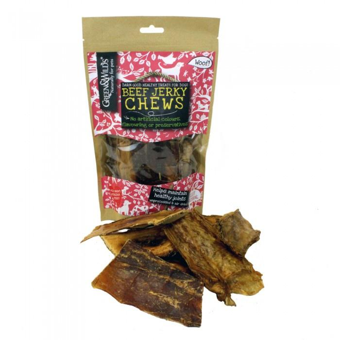 Green & Wilds Beef Jerky Chews Dog Treats Green & Wilds