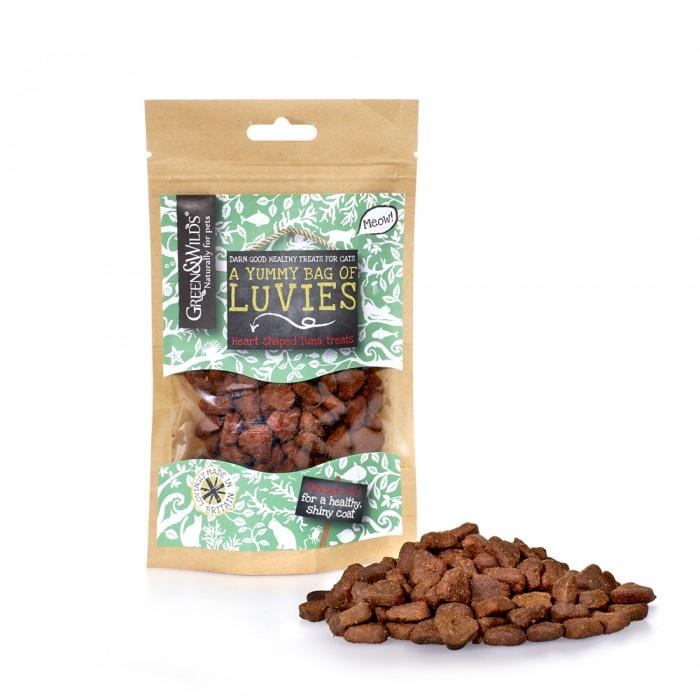 Green & Wilds Luvies Fish Treats Cat Treats Green & Wilds