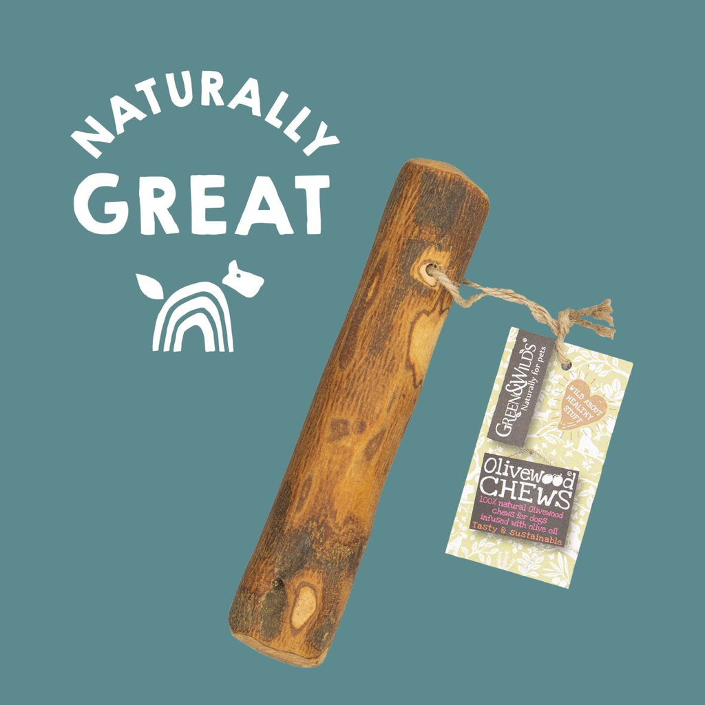 Green & Wilds Olivewood Chew Dog Treats Green & Wilds