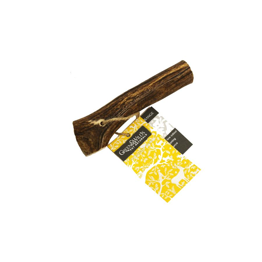 Green & Wilds Original Antler Dog Chew. A great natural dog chew.