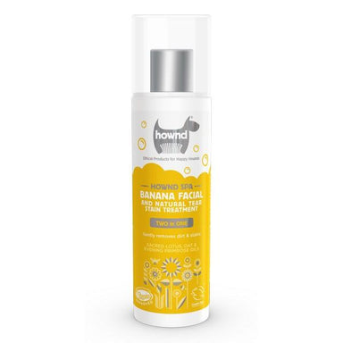 Hownd Banana Facial & Natural Tear Stain Treatment 250ml Dog Accessories Hownd