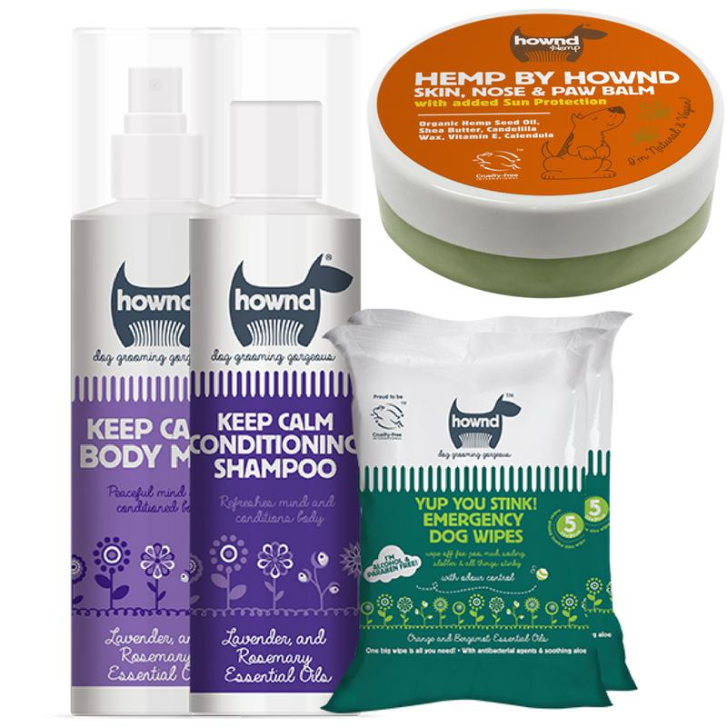 Hownd Dog Grooming Bundle for Sensitive Skin Bundles Boxes & Gifts Hownd