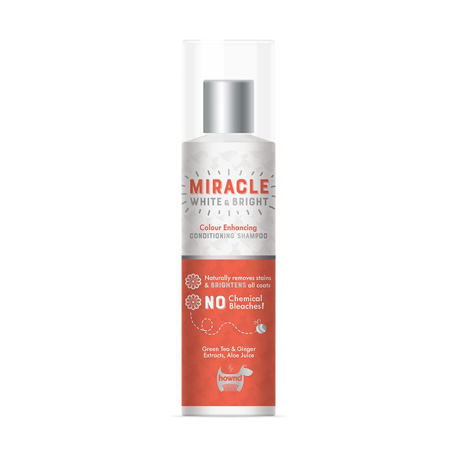Hownd Miracle White & Bright Colour Enhancing Conditioning Shampoo Dog Grooming Hownd