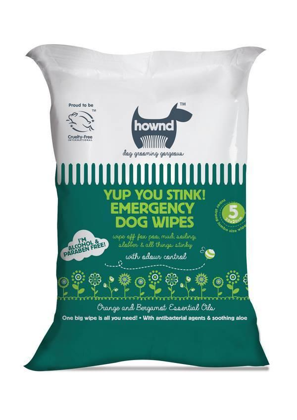 Hownd Yup You Stink Emergency Dog Wipes Dog Grooming Hownd
