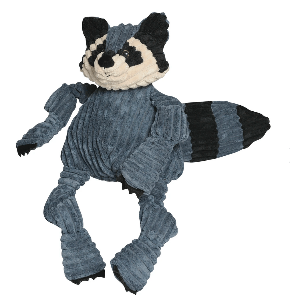 HuggleHounds Raccoon Knottie Dog Toys HuggleHounds