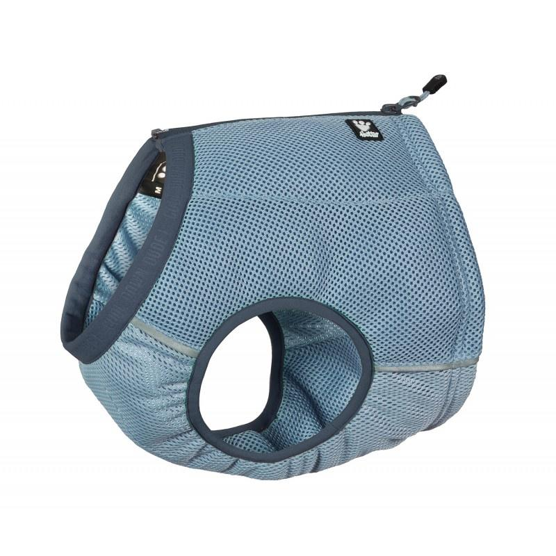 Hurtta Motivation Cooling Vest Blue Dog Collars and Leads Hurtta
