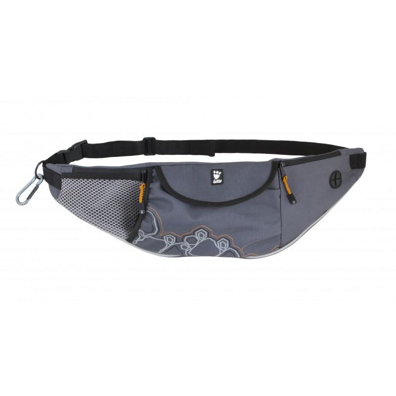 Hurtta Outdoors Action Belt Bag Granite (One Size) Dog Accessories Hurtta