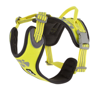 Hurtta Weekend Warrior Harness Neon Lemon Dog Collars and Leads Hurtta
