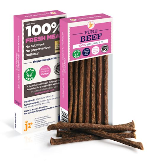 Jr Pure Beef Sticks Dog Treats JR Pet Products