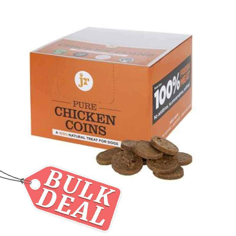 Jr Pure Chicken Coins Dog Treats JR Pet Products