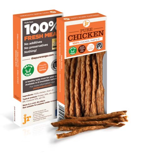 Jr Pure Chicken Sticks Dog Treats JR Pet Products