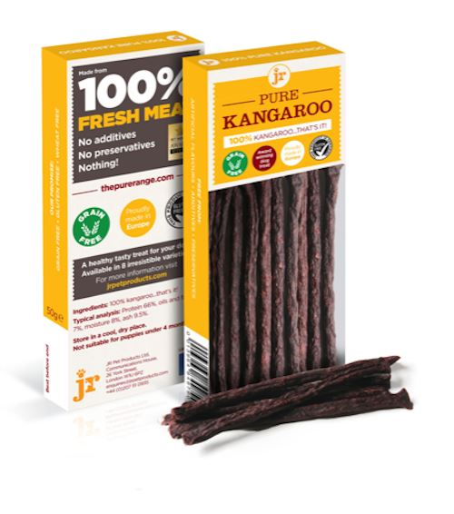 Jr Pure Kangaroo Sticks Dog Treats JR Pet Products