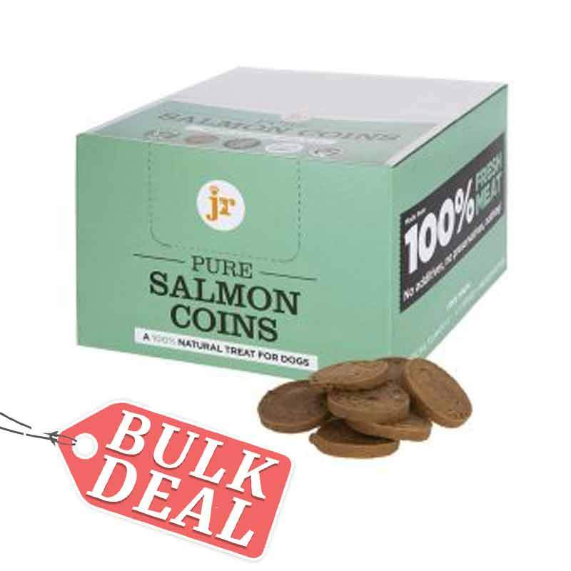 Jr Pure Salmon Coins Dog Treats JR Pet Products