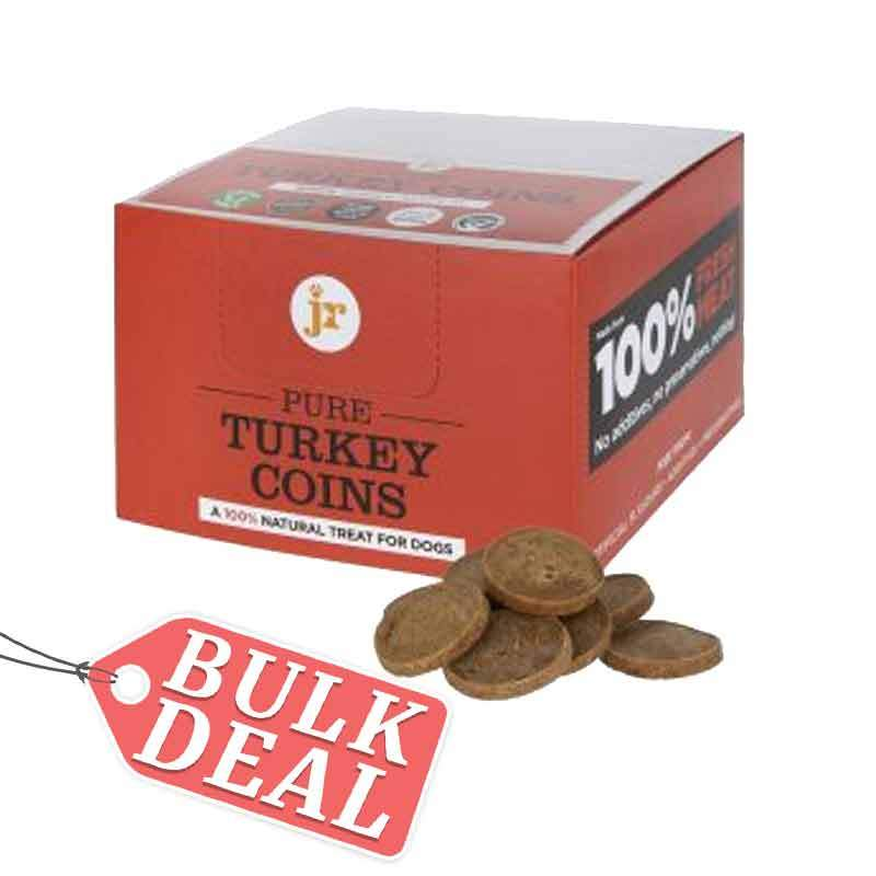 Jr Pure Turkey Coins Dog Treats JR Pet Products