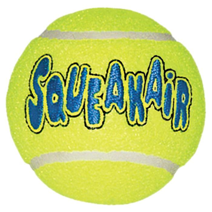 KONG Air Squeaker Tennis Ball Dog Toys KONG