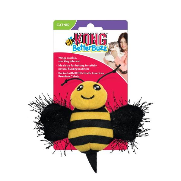 KONG Better Buzz Bee Natural Cornish Pet Shop