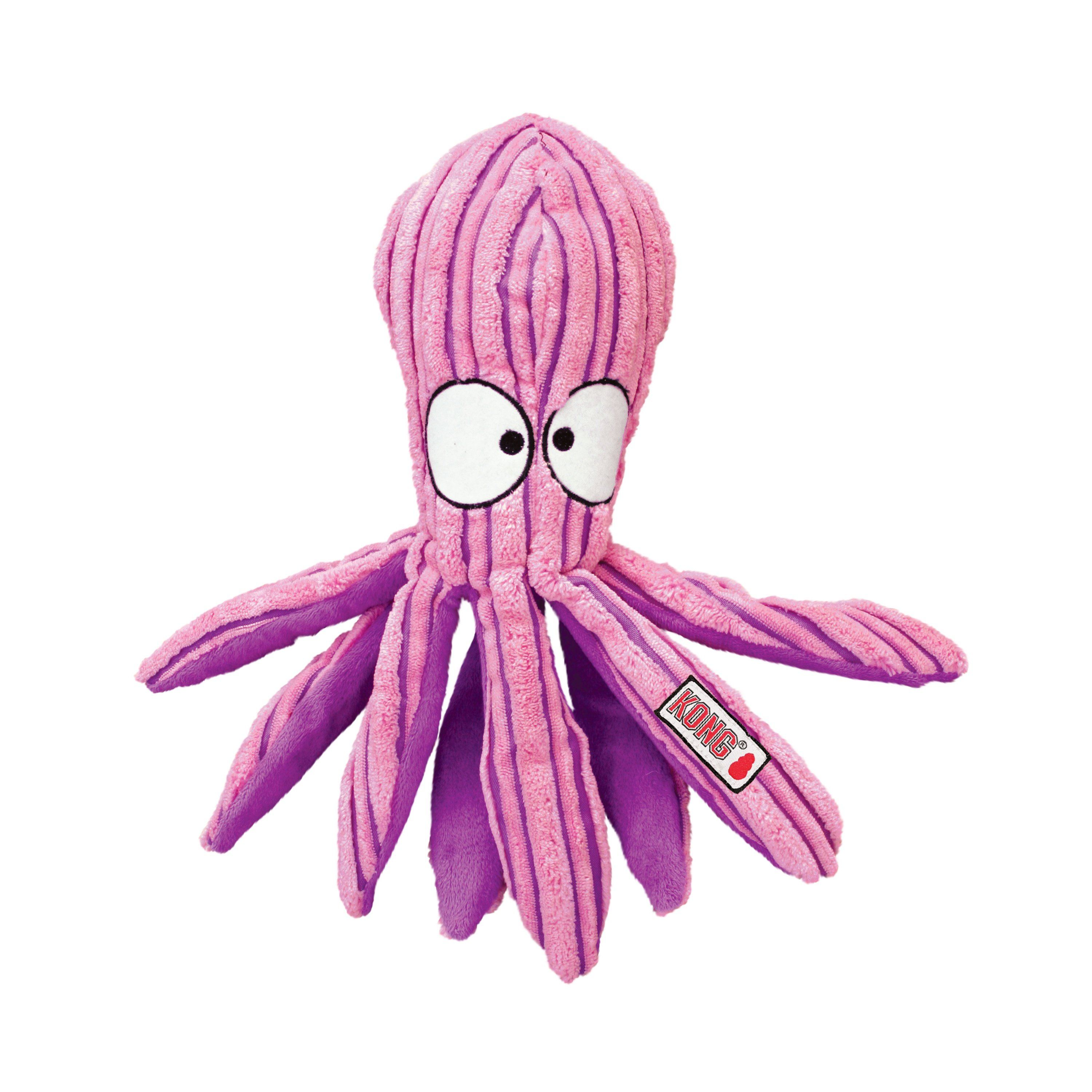KONG Cuteseas Octopus Dog Toys KONG