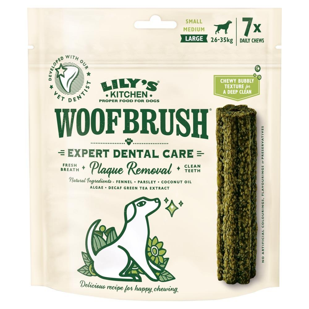 Lily's Kitchen Woofbrush Dental Chews For Dogs Dog Treats Lily's Kitchen
