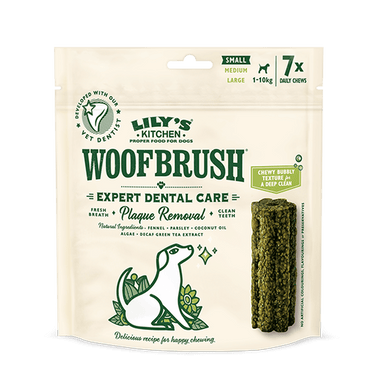 Lily's Kitchen Woofbrush Dental Chews For Dogs - Small Dog Treats Lily's Kitchen