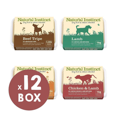 Natural Instinct Natural Variety Bundle Dog Food - Frozen Natural Instinct