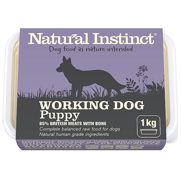 Natural Instinct Working Dog Puppy Dog Food - Frozen Natural Instinct