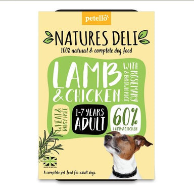 Natures Deli Lamb & Chicken with Rosemary & Brown Rice Dog Food - Wet Natures Deli