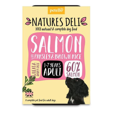 Natures Deli Salmon with Parsley & Brown Rice Dog Food - Wet Natures Deli