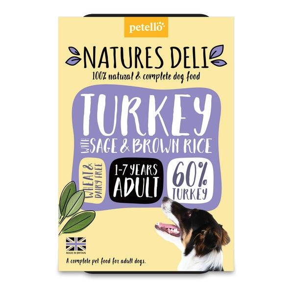 Natures Deli Turkey with Sage & Brown Rice Dog Food - Wet Natures Deli