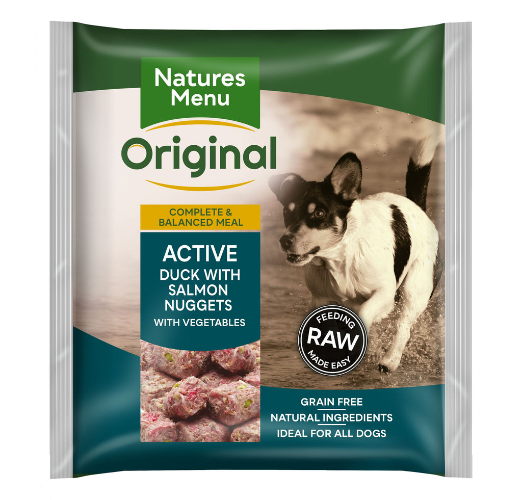 Natures Menu Active Nuggets Dog Food - Frozen Natures Menu
